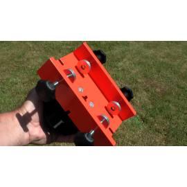 Adaptér NEDO na stavební lavičky pro umístění laseru.