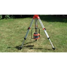 Adaptér pro rotační laser nízko nad zemí.