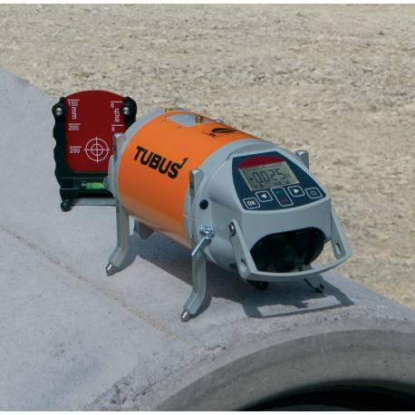 Potrubní laser Nedo Tubus - kalibrace
