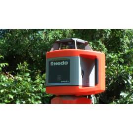 Rotační laser NEDO Sirius H, sada se stativem a laser. tyčí