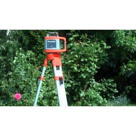 Rotační laser NEDO Sirius H, s detektorem Acceptor digital.