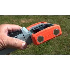 Rotační laser NEDO, laserový přijímač.
