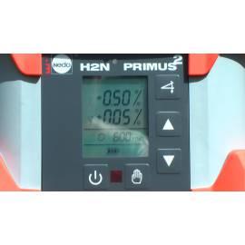 Rotační laser NEDO Primus H2N, dvousklonový, s detektorem Acceptor Digital.