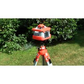 Rotační laser NEDO Primus HVA2N, dvousklonový s automatickým cílením