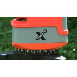 Křížový laser NEDO X-Liner 3 - 3 linie.