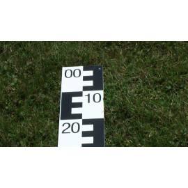 Vodočetná lať NESTLE, délka 1m, černá 99-00