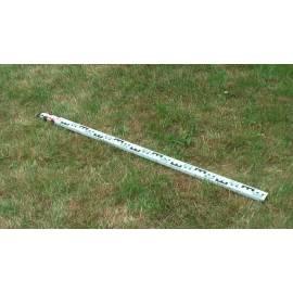 Nivelační lať teleskopická, délka 3m