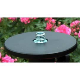 Stativ NEDO aluminiový s elevátorem, střední