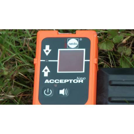 Laserový přijímač Nedo Acceptor line.