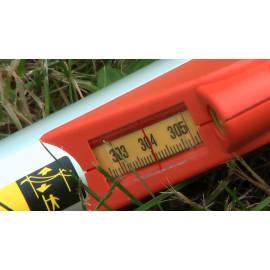 Měřící tyč NEDO mEssfix Compact, 0,60 - 3,04m.