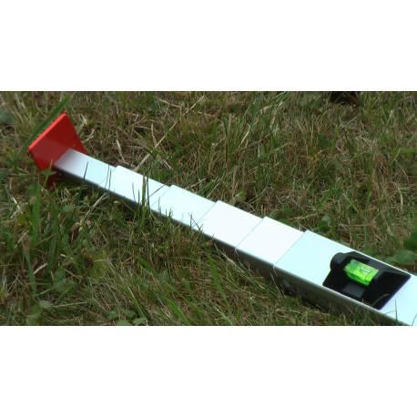 Měřící tyč NEDO mEssfix, 5m.