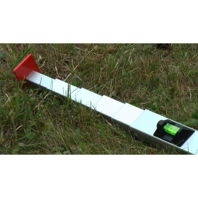 Měřící tyč NEDO mEssfix, 1.07 - 5,00m.