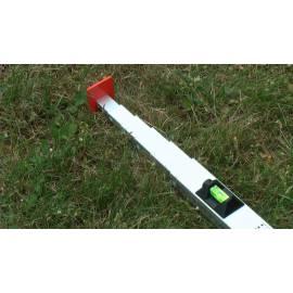 Měřící tyč NEDO mEssfix, 0,53 - 2,00m.