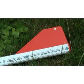 Měřící tyč NEDO mEssfix, 0,70 - 3,00m.