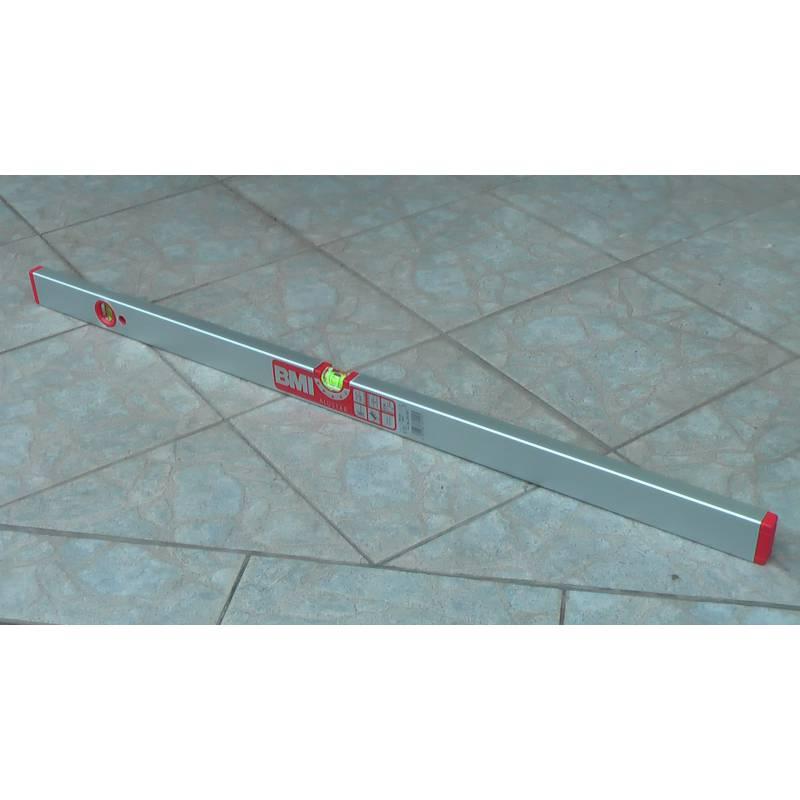 Vodováha ALUSTAR, standardní provedení, 80cm, 2 libely.