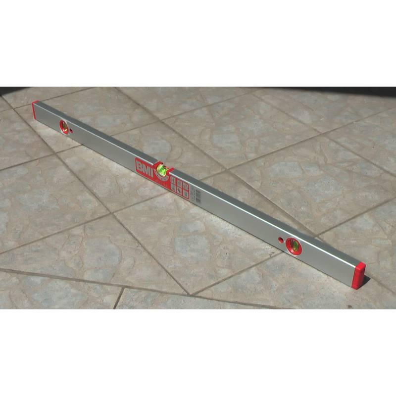 Vodováha ALUSTAR, standardní provedení, 100cm, 3 libely.