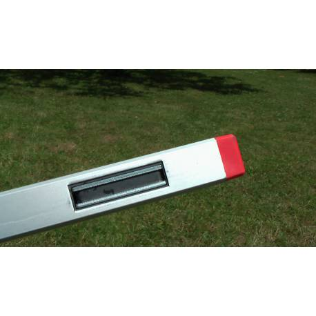 Vodováha BMI ALUSTAR magnetická 60cm, 2 libely.