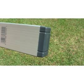 Vodováha ALUSTAR, standardní provedení, 40cm, 2 libely, s magnetem.