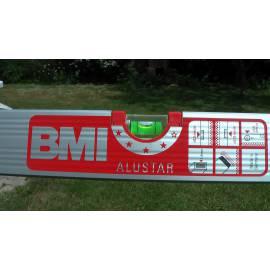 Vodováha BMI ALUSTAR magnetická 50cm, 2 libely.