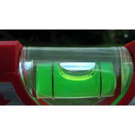 Vodováha ALUSTAR, standardní provedení, 80cm, 2 libely, s magnetem.
