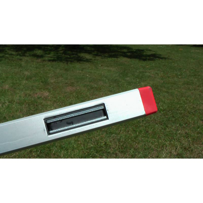 Vodováha ALUSTAR, standardní provedení, 120cm, 2 libely, s magnetem.