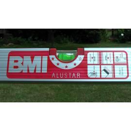 Vodováha BMI ALUSTAR magnetická 100cm, 2 libely.