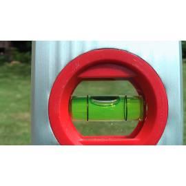 Vodováha ALUSTAR, standardní provedení, 200cm, 2 libely, s magnetem.