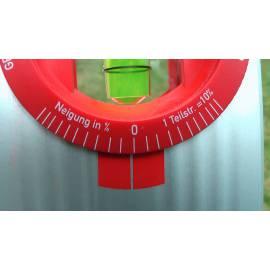 Vodováha BMI ALUSTAR 40cm s nastavitelným úhlem.