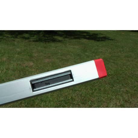 Vodováha BMI ALUSTAR 40cm, s magnetem a nastavitelným úhlem.