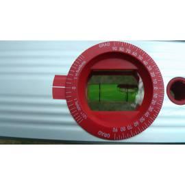 Vodováha ALUSTAR 40cm, s magnetem a nastavitelným úhlem.