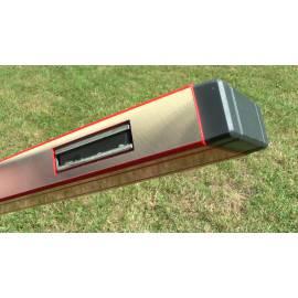 Vodováha SUPERSTAR s magnetem a třemi libelami, délka 200cm.