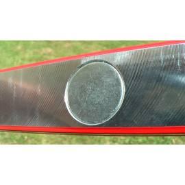 Vodováha ROBUST se třemi libelami a magnety. Délka 100cm.