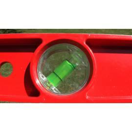 Litinová vodováha, všestranně hlazená, 60cm