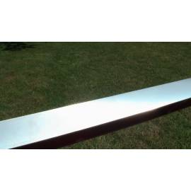 Litinová vodováha, všestranně hlazená, 80cm