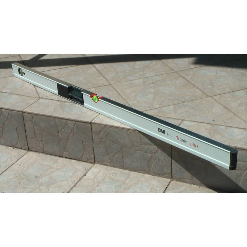 Digitální vodováha BMI Inclitronic plus, 120cm.