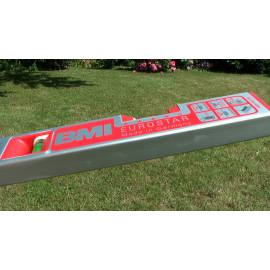 Vodováha EUROSTAR, délka 60cm, magnet.
