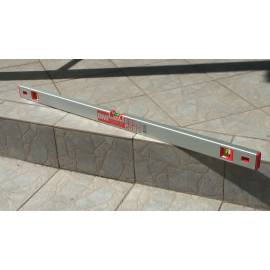 Vodováha EUROSTAR, délka 120cm, magnet.