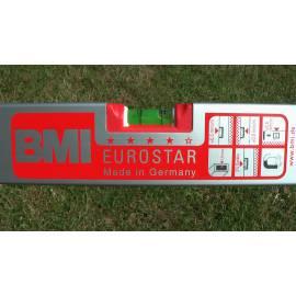 Vodováha EUROSTAR, standardní provedení, 60cm, 3 libely.