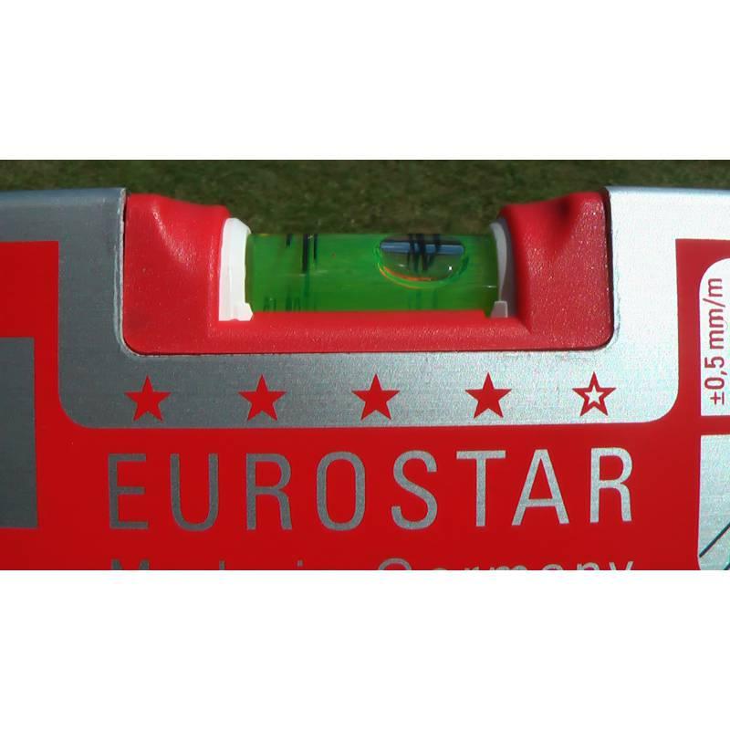 Vodováha EUROSTAR, standardní provedení, 100cm, 3 libely.