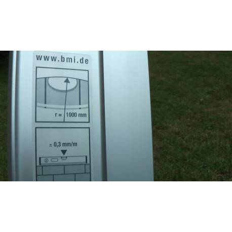 BMI vodováha HIGHPRECISION 120 cm