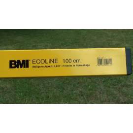 Vodováha ECOLINE, 80cm, přesnost 1,0mm/m