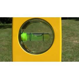 Vodováha ECOLINE, 120cm, přesnost 1,0mm/m