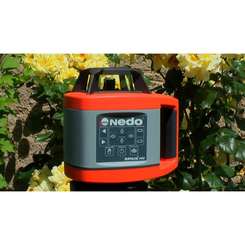 Rotační laser NEDO Sirius HV, automatický.