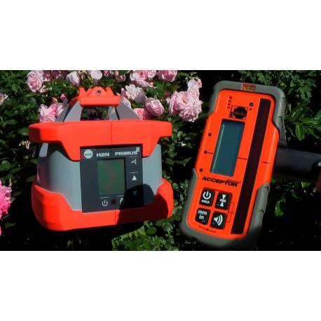 Rotační laser Nedo Primus H2N plus + Acceptor Digital.