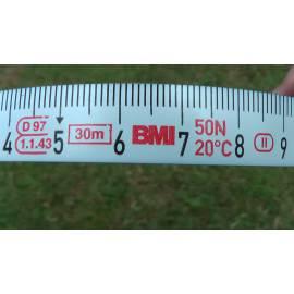 """Měřické pásmo, délka 30m, koncovka """"B"""""""