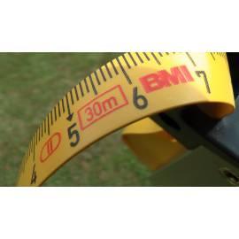 """Měřické pásmo plastové se skleněným vláknem, délka 30m, koncovka """"C"""""""