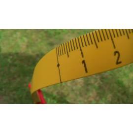 """Měřické pásmo plastové se skleněným vláknem, délka 50m, koncovka """"A"""""""