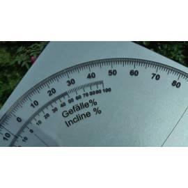 Mechanický úhloměr s nastavitelným úhlem, 60cm