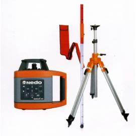 Rotační laser NEDO Sirius HV, automatický, sada II.