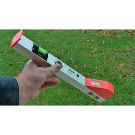 Měřící tyč NEDO mEssfix, 1m.